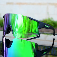 2020 Photochromic Bike Glasses MTB Sports Cycling Goggles Bi