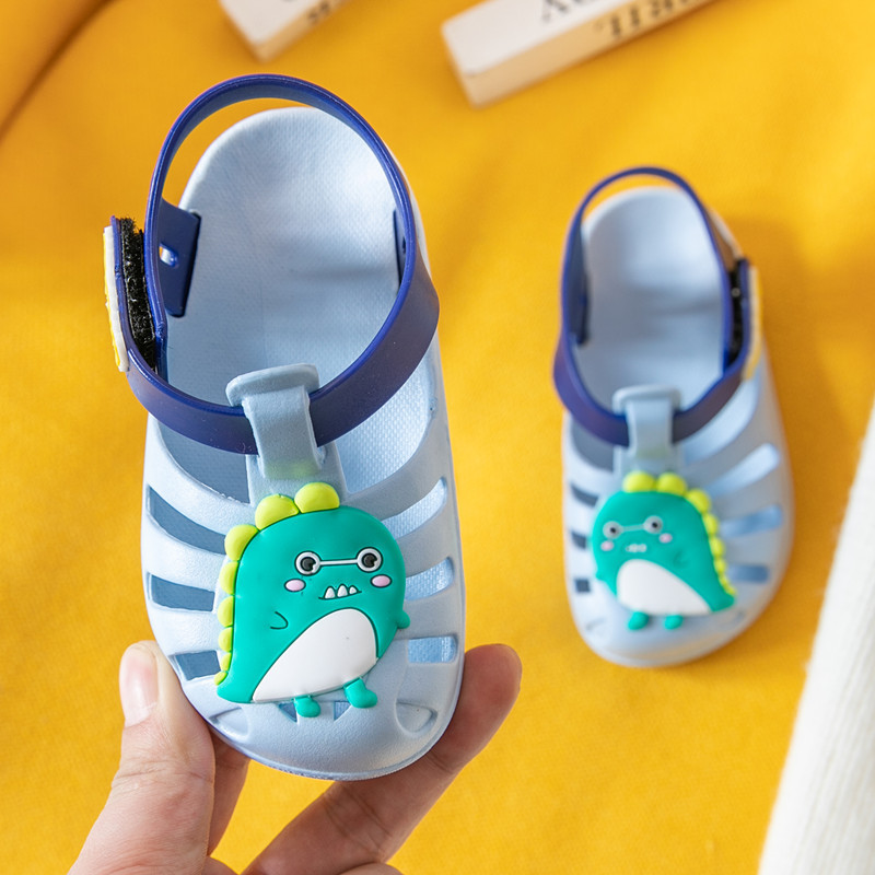 Summer cartoon unicorn toddler water girls shoes infant baby princess kids shoes children sandals breathable pvc flats sandal new