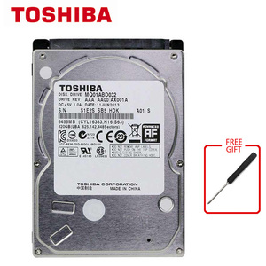 Внутренний жесткий диск TOSHIBA для ноутбука, 320 ГБ, 2,5 дюйма, SATA2, 320 Гб HDD, 5400 об/мин, SATA2.0