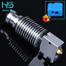 Cabeça de j do metal de v6 hotend, bloque de roda de calor, boquilla v6 para e3d hotend para pt100