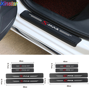 4pcs NEW Car Protector Door Sill Stickers for ford cmax smax(China)