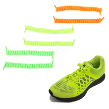 цены 3pairs/pack No Tie Elastic Shoe Strings Shoelaces Lazy Spring Shoe Laces for Men Women