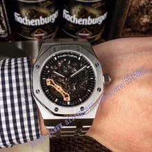 luxury brand classic gold men full steel watch automatic mec