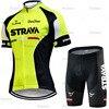 Strava conjunto camisa de ciclismo das mulheres 2021 mulher manga curta bicicleta equipe mtb ciclismo moletom terno respirável uniforme 18
