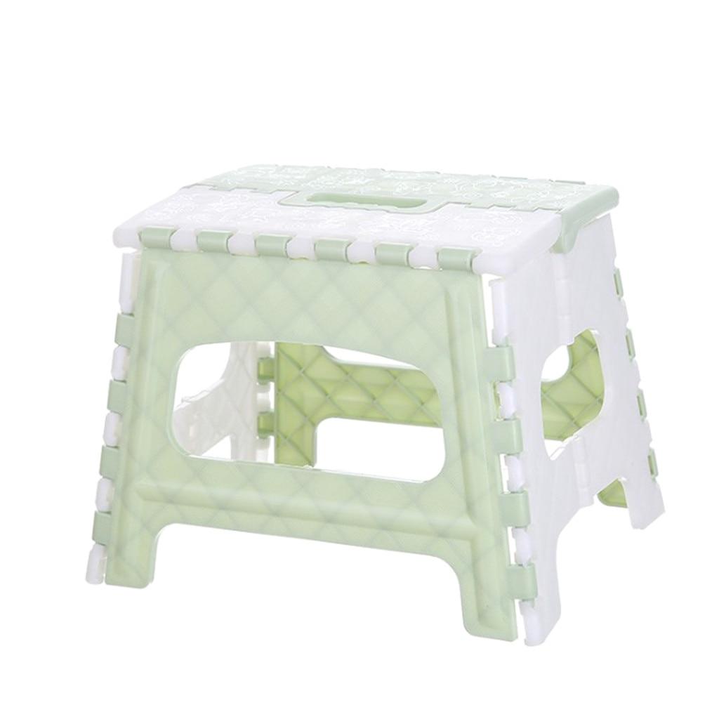 инструмент 2021 Plastic Multi Purpose Folding Stool Step stool kids Home Train Outdoor Indoor Storage Foldable  stool  plegable