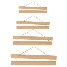 Cadre Photo magnétique A4 en bois DIY | A3, cintre pour affiche de Photo, décor artistique mural