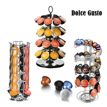 Storage-Rack Pods-Holder Capsule Dolce Coffee Plating-Stand Iron Chrome Metal New