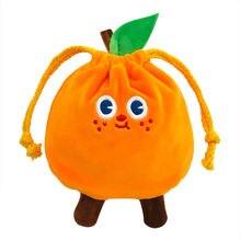 Уродливая Оранжевая Сумка на шнурке сумка для ювелирных украшений