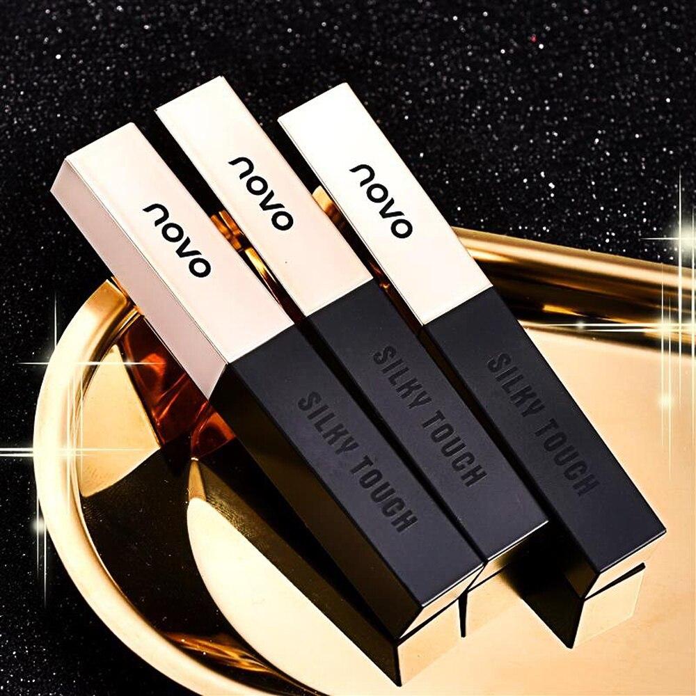 Novo Novo Estilo Nevoeiro Veludo Túbulo Pequenos Bares Batom Long-lasting Hidratante Labial Hidratante Matte Lip Gloss