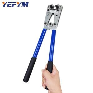 Image 5 - Alicate de crimpagem para cabo de HX 50B, ferramenta de friso ponteira de fio, terminal de catraca, alicates de crimpagem para 6 50mm2 1 10awg