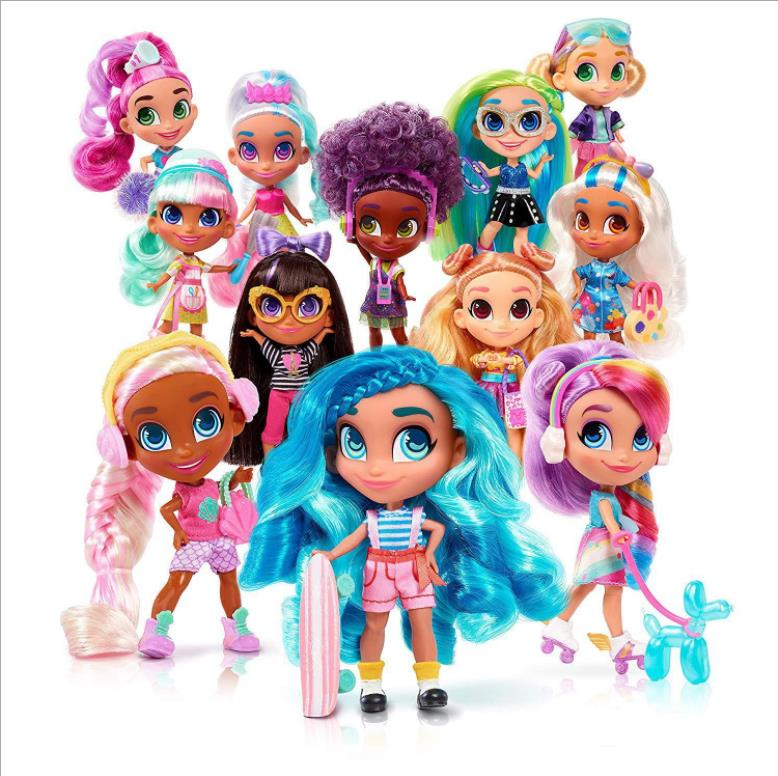 2019 Fashion Hairdorable <font><b>Dolls</b></font> Unpacking <font><b>LOLS</b></font> <font><b>Doll</b></font> Hair Beauty Surprise <font><b>Dolls</b></font> For Children Christmas Gift Dropshipping image