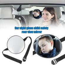 Adjustable Wide Angle Car Rear Seat Headrest Baby Safety View Mirror Monitor