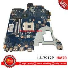 Para Acer E1-531 NV56R HM70 Teste Rápido Navio V3-571G Q5WV1 LA-7912P Laptop motherboard mainboard