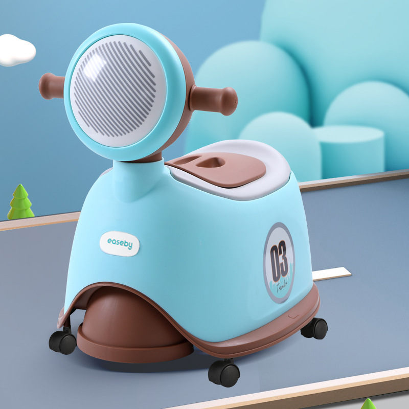 Extra-large No. Toilet For Kids New Style With Music Mobile Toilet Men And Women Kids Infant Urinal