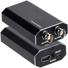 Conversor coaxial 1080p do sinal da câmera de ahd tvi sdi hd para o sistema do cctv do dvr