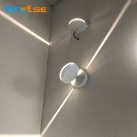 8 ワット Led ウォールランプ表面実装屋内ライナー Led ウォールライト通路寝室のインテリアドアゲートポーチ壁燭台照明器具 -