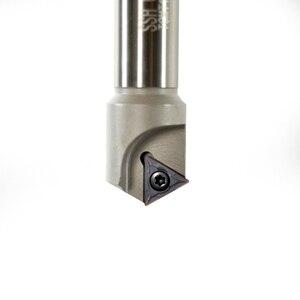 60 градусов 5-25 мм cnc фаски держатель инструмента сверла SSH C20-25-130 + 10 шт TCMT16T304 токарные инструменты твердосплавная вставка