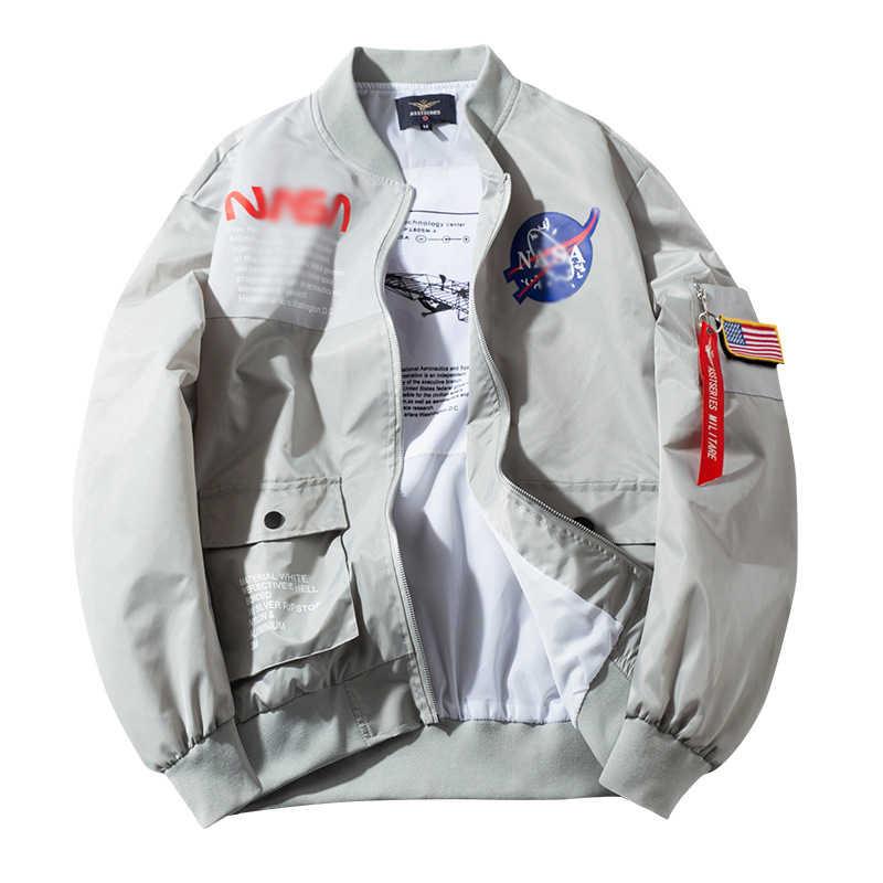 Куртка Air Force осенняя куртка-бомбер MA1 мужская верхняя одежда с вышивкой пальто Прямая поставка