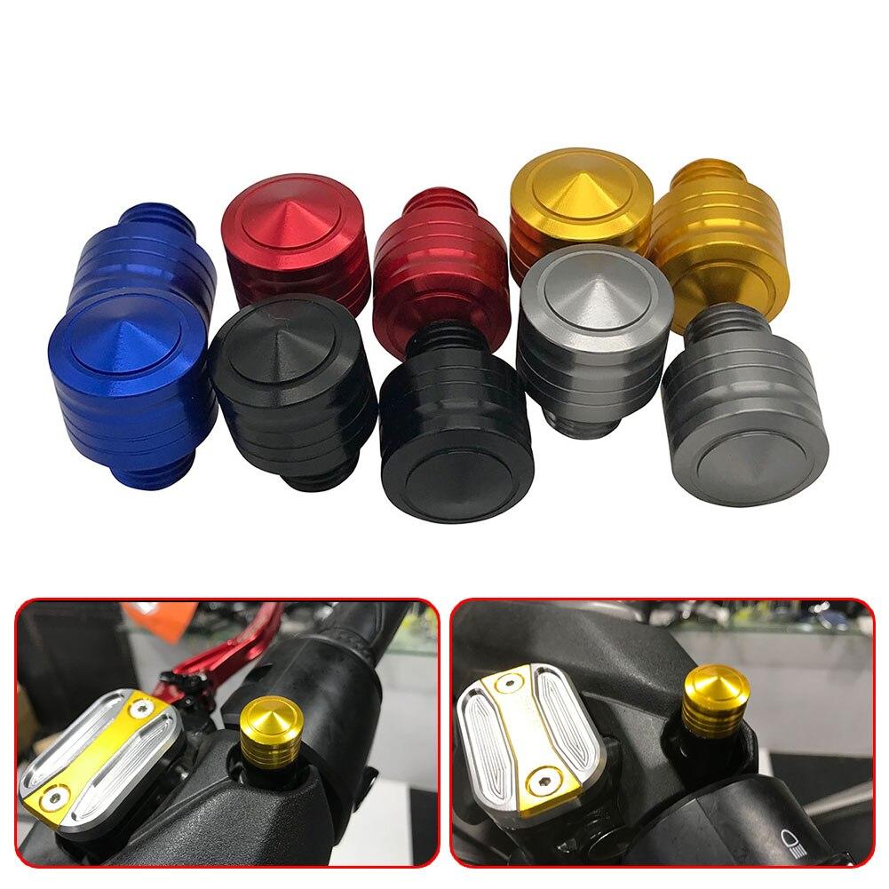 Universal M10X1.25 Motorcycle CNC Mirror Hole Plug Screw For Yamaha MT09 FZ09 MT07 FZ07 MT10 MT03 MT01 MT125 MT25 XSR900 XSR700
