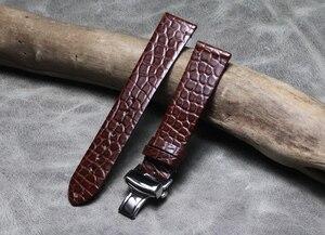 Ремешок для часов из натуральной кожи для Casio Seiko Diesel Fossil стальной ремешок с застежкой на запястье 16 18 19 20 21 22 мм аксессуары для часов для мужч...