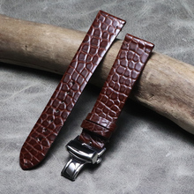 Genuine Leather Watch Band for Casio Seiko Diesel Fossil Ste