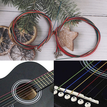 Guitar-Strings Folk Stainless-Steel Steel-Wire for Classic 6pcs