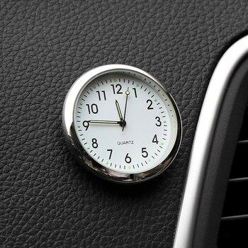 Автомобильные часы, светящиеся мини-автомобили, внутренние цифровые часы, механика, кварцевые часы, авто орнамент, автомобильные аксессуар...