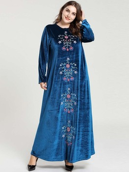 Holiday Indian Dress Dress Women Long Muslim Vestido Evening