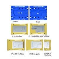 Plataforma de plantación de estaño de posicionamiento automático de nivel medio mecánico IBGA Max compatible con IPHONE 6 en 1 X / XSMAX IP 11 / 11PRO MAX Repair