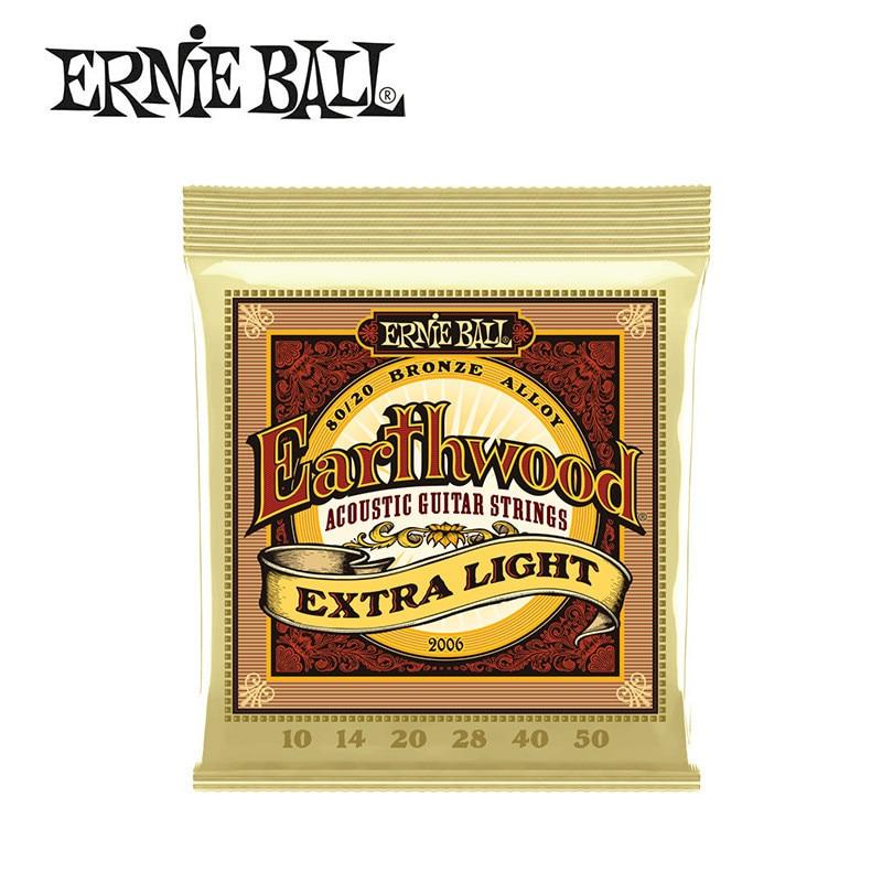 Ernie Ball Набор Акустических Гитарных струн, бронзовые Струны для гитарных музыкальных инструментов