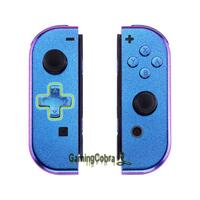 Chameleon Controller Housing (D Pad Version) With Full Set Buttons DIY Replacement Shell Case for Nintendo Switch Joy Con