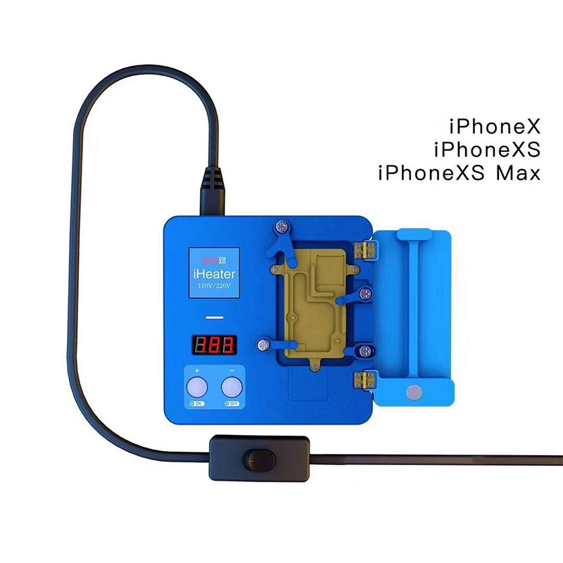Phone Fixture MAX JC XS IHeater Thermostat Plate Desoldering Station  Heating For Motherboard Intelligent 11 Digital MAX Pro X
