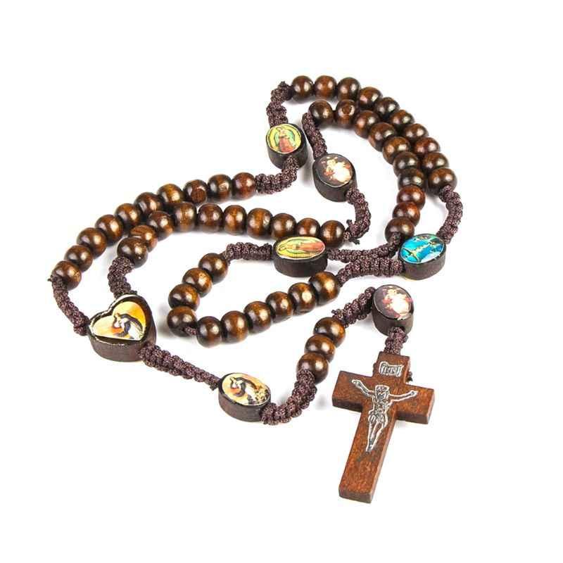 Gesù I. N. R. I. Christain Crocifisso Croce Collana Croce Pendente Collana Cattolica