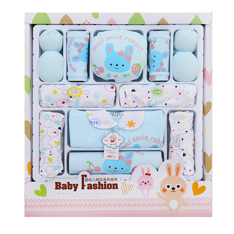 3 Case Clothes Pure Cotton Clothes For Babies Newborns Gift Box Spring And Autumn Set Maternal And Child Supplies A Generation O