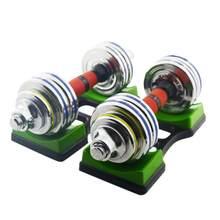 1 paar Hantel Halterung Matte Haushalts Hantel Ständer Halter Boden Schutz Klammern Für Indoor Gym Fitness Training Gerät