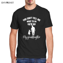 T-Shirt Men Granddaughter Vintage Cotton You No Gift Do-Youre Tell Cant What Men's Unisex