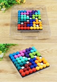 Quadratic equation magic bead puzzle logic reasoning analysis and judgment of magnetic puzzle puzzle puzzle children's toys фото