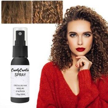 Extra-Volume Magic Spray Hairspray Hair Styling Spray Strong Hair Styling Gel Contains Dense Hair Fibers Curly Curlie Spray 1