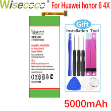 Wisecoco 5000 мАч HB4242B4EBW батарея для Huawei Honor 6 4X 7i H60-L01 H60-L02 H60-L11 H60-L04 honor 4X che2-l11 мобильный телефон