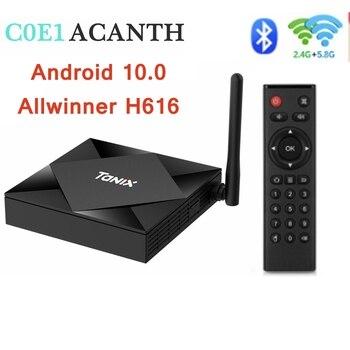 Tanix TX6S TV Box Allwinner H616 Android 10.0 Tv Box 4GB RAM 32GB 64GB ROM Smart Set Top Box Quad Core 4K Media Player 2020 hottest hk1 rbox smart tv box android 10 0 tv set top box 4k 2gb 4gb 16gb 32gb 64gb quad core media player