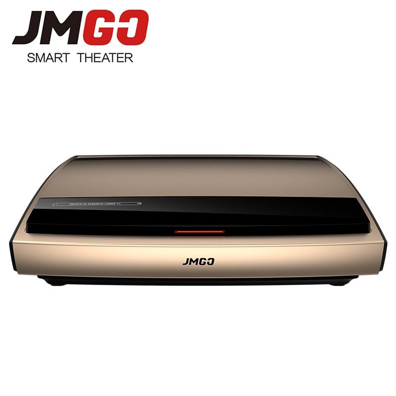 JMGO 4K Laser Proiettore S3, 3840x2160 dpi, 3000 ANSI Lumen. 300 Pollici Schermo Enorme per Home Cinema. Video Beamer. WIFI/Bluetooth