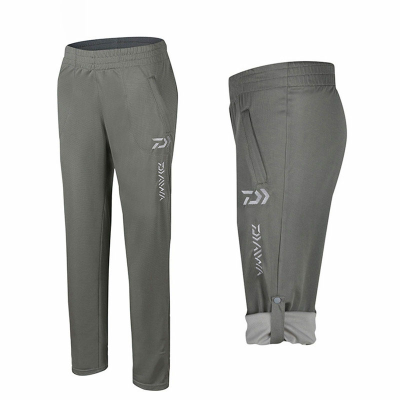 Daiwa Outdoor Pants For Fishing Quick Dry Elastic Waist Breathable Comfortable Anti-UV Sun Protection Fishing Pants Men