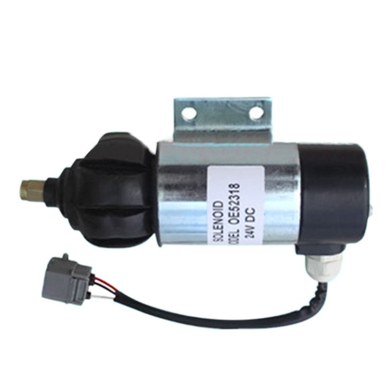 Wholesale  Fuel Shutdown Solenoid 873754 OE52318  24V,2PCS/LOT
