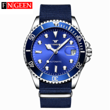 Men Mechanical Watches Top Brand Luxury Steel Wristwatch Mal
