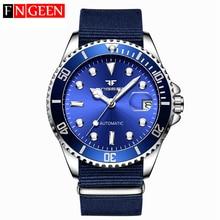 Men Mechanical Watches Top Brand Luxury Steel Wristwatch Mal
