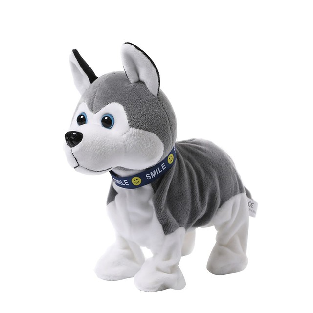 Plush Electronic Dogs Toy Kids Stand Walk Sound Control Interactive Robot Toy Gifts Educational Doll Special Gift For Children