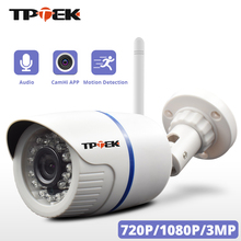HD 1080P กล้อง IP กล้อง WiFi WIFI Home Security กล้อง 720P 3MP ไร้สายการเฝ้าระวัง Wi Fi Bullet IP กันน้ำ ONVIF Camara CAM