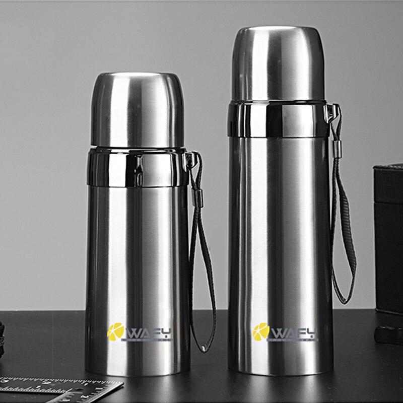 1 шт. 500 мл Bullet двойной-Слои Нержавеющаясталь вакуумный термос кружка Кофе кружка термос камуфляж вакуумный термос