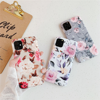 Phone Case sFor Samsung Galaxy A41 A51 A71 S9 S10 S20 Ultra Plus S10E 5G Case Flower leaf Soft TPU Silicone IMD Back Cover Capa shockproof tpu hard pc case for samsung galaxy s10 plus s10e s10 5g s10plus cases dual hybrid back cover with bracket capa