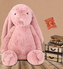 Игрушка плюшевый кролик 40 см мягкая мультяшная игрушка кукла